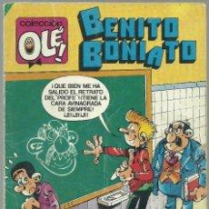 Tebeos: BENITO BONIATO Nº 3 - EDITORIAL BRUGUERA 1984. Lote 66043542
