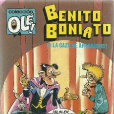 Tebeos: BENITO BONIATO Nº 10 - LA CAZA DE APROBADOS - EDITORIAL BRUGUERA 1985. Lote 66043778
