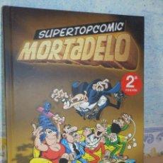 Tebeos: SUPERTOPCOMIC - Nº 1 - EDICIONES B - 2ª EDICIÓN 2009 - MORTADELO -. Lote 78227551