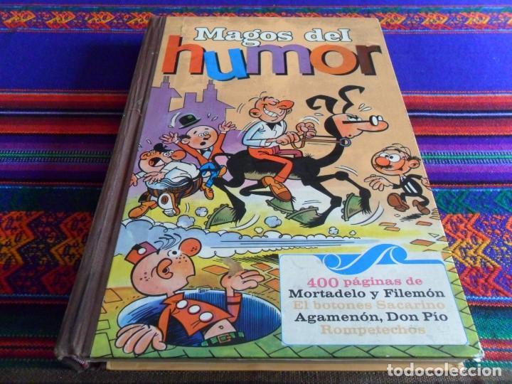 MAGOS DEL HUMOR Nº I. BRUGUERA 1971. DON PÍO AGAMENÓN ROMPETECHOS SACARINO MORTADELO. (Tebeos y Comics - Bruguera - Super Humor)