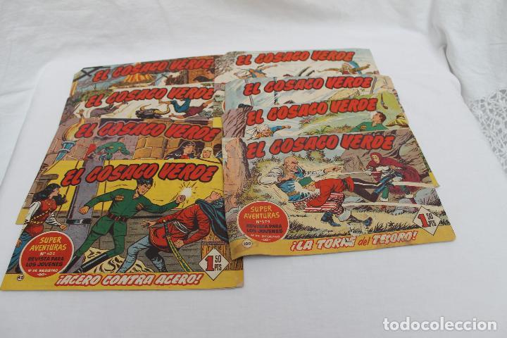Tebeos: LOTE 8 COMIC, EL COSACO VERDE, BRUGUERA. ORIGINALES, AÑOS 60 - Foto 3 - 66262538