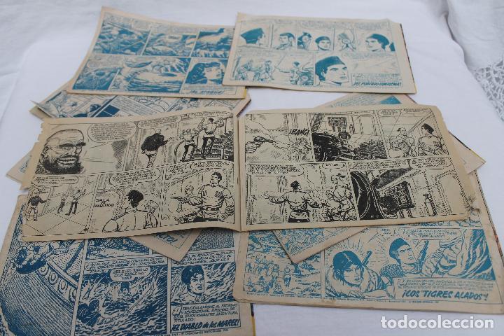 Tebeos: LOTE 8 COMIC, EL COSACO VERDE, BRUGUERA. ORIGINALES, AÑOS 60 - Foto 5 - 66262538