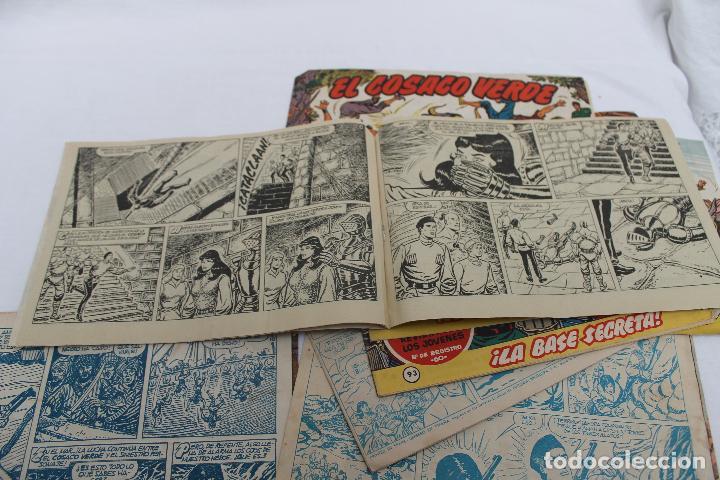 Tebeos: LOTE 8 COMIC, EL COSACO VERDE, BRUGUERA. ORIGINALES, AÑOS 60 - Foto 7 - 66262538
