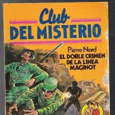 Tebeos: CLUB DEL MISTERIO - EL DOBLE CRIMEN DE LA LINEA MAGINOT - BRUGUERA Nº 29 - 1ª EDICIÓN 1981. Lote 66549282