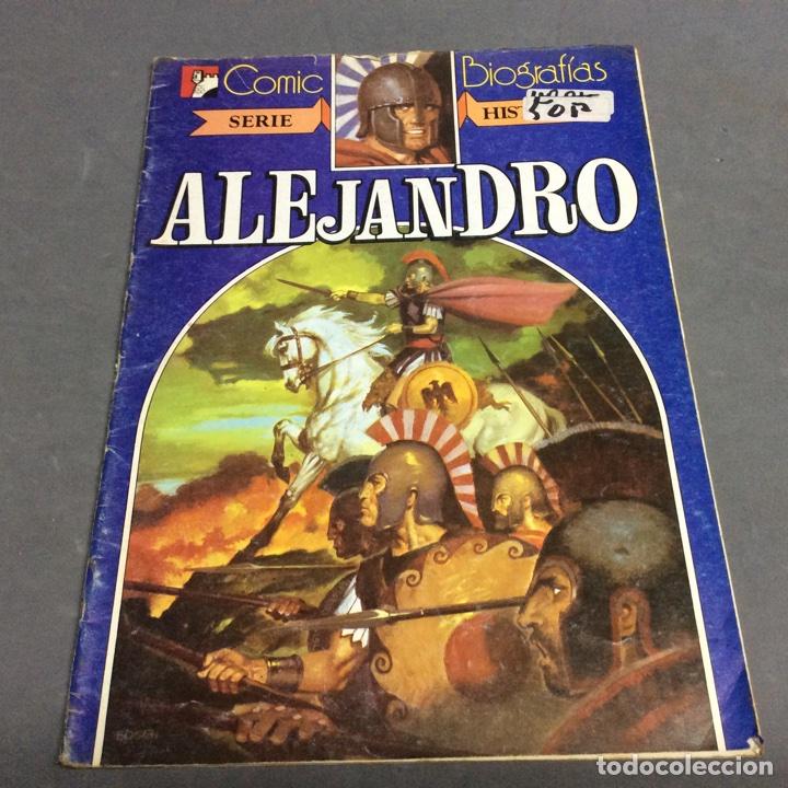 ALEJANDRO , SERIE HISTORIA -,COMIC BIOGRAFIAS - ED. BRUGUERA (Tebeos y Comics - Bruguera - Otros)