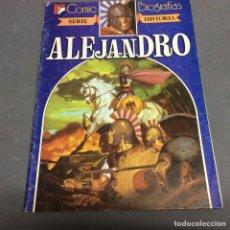 Tebeos - ALEJANDRO , SERIE HISTORIA -,COMIC BIOGRAFIAS - ED. BRUGUERA - 66757650