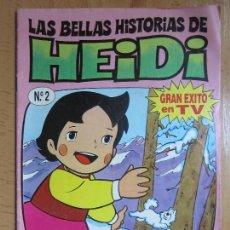 Tebeos: LAS BELLAS HISTORIAS DE HEIDI Nº 2 EDICIONES B 1987. Lote 66922994