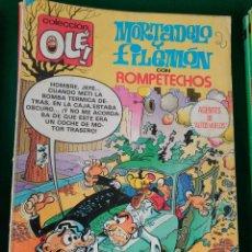 Tebeos: MORTADELO Y FILEMON CON ROMPETECHOS Nº 206 - EDITORIAL BRUGUERA 3ª EDICION DICIEMBRE 1985. Lote 66958958