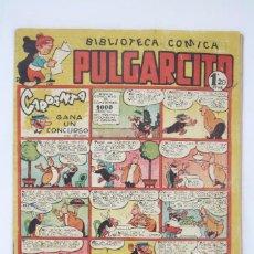 Tebeos: CÓMIC PULGARCITO - Nº 139. CARPANTA GANA UN CONCURSO. ESCOBAR - ED. BRUGUERA, AÑOS 40. Lote 67401485