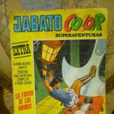 Tebeos: JABATO COLOR EXTRA Nº 11: LA FARSA DE LOS HAONIS. BRUGUERA 1.978.. Lote 67634601