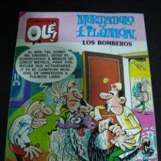 Tebeos: MORTADELO Y FILEMON. LOS BOMBEROS. FRANCISCO IBAÑEZ. EDICIONES B 1989 1ª EDICION. COLECCION OLE.. Lote 67812341