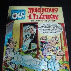 Tebeos: MORTADELO Y FILEMON. LOS AGENTES DE LA TIA. FRANCISCO IBAÑEZ. EDICIONES B 1987. COLECCION OLE.. Lote 67815281