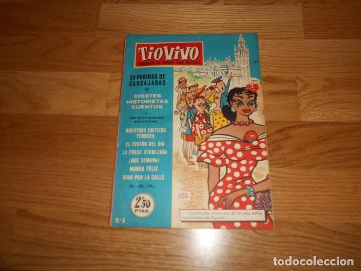 TIO VIVO EPOCA 1 Nº 6. BRUGUERA PRIMERA EPOCA (Tebeos y Comics - Bruguera - Tio Vivo)
