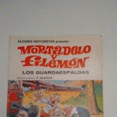 Tebeos: ALEGRES HISTORIETAS Nº 2. MORTADELO Y FILEMON. LOS GUARDAESPALDAS. BRUGUERA 1981. Lote 67879621