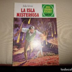 Tebeos: JOYAS LITERARIAS JUVENILES Nº 13 LA ISLA MISTERIOSA. Lote 68069373