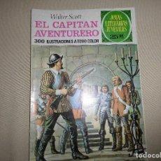 Tebeos: JOYAS LITERARIAS JUVENILES Nº 74 EL CAPITAN AVENTURERO. Lote 68071777