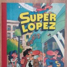 Tebeos: SUPER LOPEZ TOMO 1 . JAN. CARTONÉ/ TAPA DURA. EDICIONES B,1ª REIMPRESION 1990. TOMO 5 NUMEROS. Lote 68193953