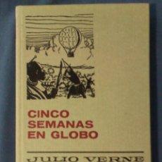 Tebeos: CINCO SEMANAS EN GLOBO JULIO VERNE 1977 11ª EDICIÓN COLECCIÓN HISTORIAS SELECCIÓN. Lote 68230253