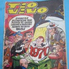 Tebeos: TIO VIVO , ALMANAQUE PARA 1970 BRUGUERA. Lote 68357197
