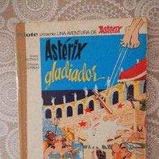 Tebeos: ASTERIX GLADIADOR - EDITORIAL BRUGUERA 1968 - COL. PILOTE. Lote 68361381
