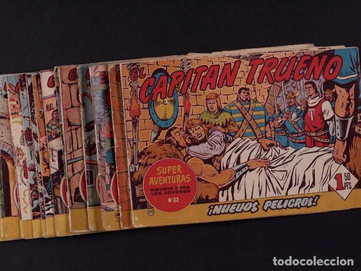 EL CAPITAN TRUENO, 45 EJEMPLARES, AÑO 1961 (Tebeos y Comics - Bruguera - Capitán Trueno)