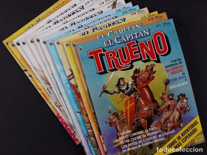 EL CAPITAN TRUENO, DEL Nº 1 AL 12, AÑO 1986 (Tebeos y Comics - Bruguera - Capitán Trueno)