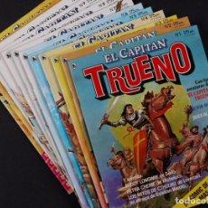 Tebeos: EL CAPITAN TRUENO, DEL Nº 1 AL 12, AÑO 1986. Lote 68457129