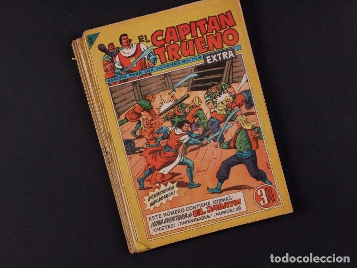 EL CAPITAN TRUENO EXTRA, 10 EJEMPLARES, AÑO 1960 (Tebeos y Comics - Bruguera - Capitán Trueno)