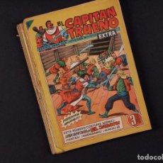 Tebeos: EL CAPITAN TRUENO EXTRA, 10 EJEMPLARES, AÑO 1960. Lote 68457669