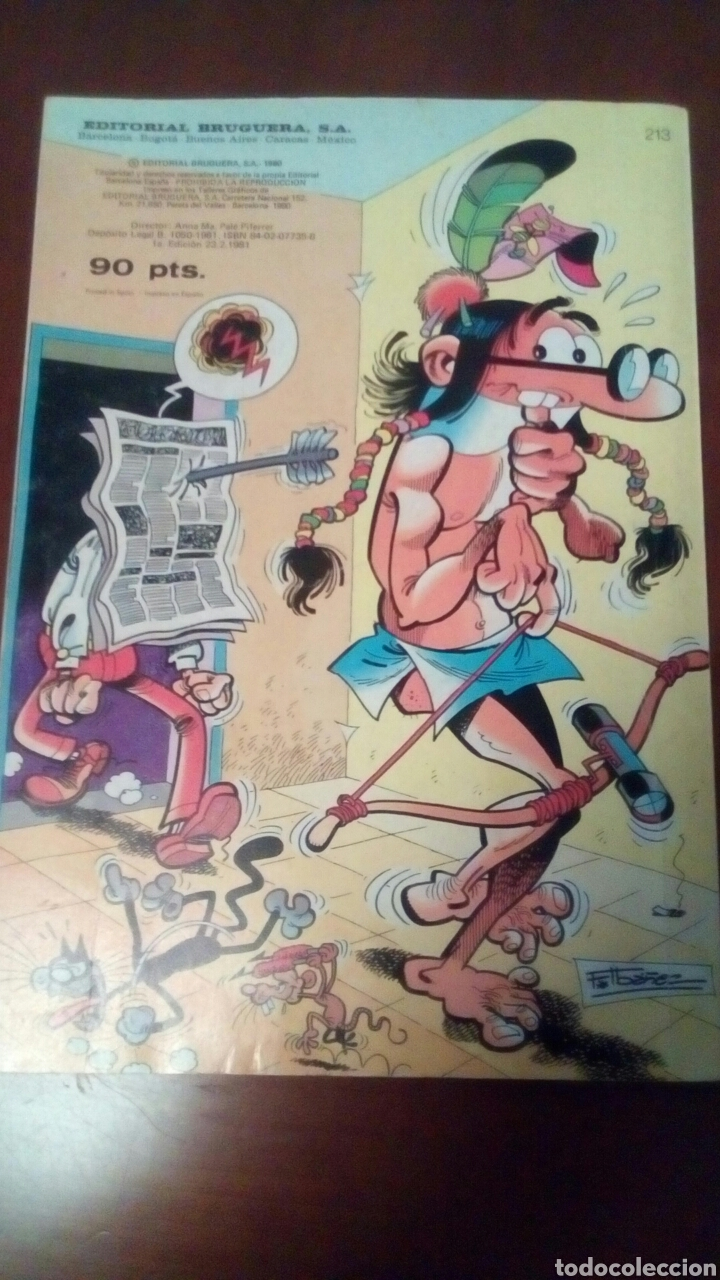 Tebeos: Cómic mortadelo y filemon n'213-1' edición año 1980. - Foto 6 - 68553481