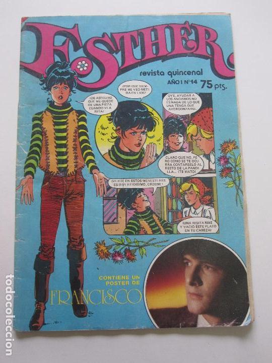 ESTHER Nº 14 BRUGUERA C28 (Tebeos y Comics - Bruguera - Esther)