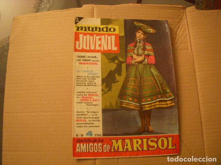 MUNDO JUVENIL Nº 19, REVISTA DE LOS AMIGOS DE MARISOL, EDITORIAL BRUGUERA (Tebeos y Comics - Bruguera - Otros)