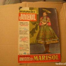 Tebeos: MUNDO JUVENIL Nº 19, REVISTA DE LOS AMIGOS DE MARISOL, EDITORIAL BRUGUERA. Lote 68755837