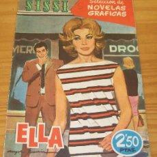 Tebeos: SISSI 61 ELLA. SELECCION DE NOVELAS GRAFICAS. BRUGUERA. Lote 68961489
