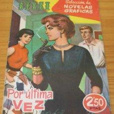 Tebeos: SISSI 72 POR ULTIMA VEZ. SELECCION DE NOVELAS GRAFICAS. BRUGUERA. Lote 68961653