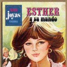 Tebeos: SUPER JOYAS FEMENINAS ESTHER Y SU MUNDO Nº 9 1ª EDICIÓN 1979. Lote 69270669