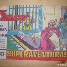 Tebeos: EL JABATO UNA TRETA DE GIAFFAR Nº 328 AÑO 1965. Lote 69276769