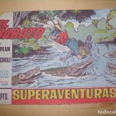 Tebeos: EL JABATO EL PLAN DE JAICHILI Nº 330 AÑO 1965. Lote 69276885