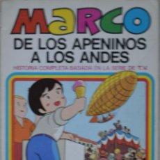 Tebeos: TEBEO MARCO: DE LOS APENINOS A LOS ANDES. PERDONAME PAPA. Nº 4. 1976. EDICIONES BRUGUERA. Lote 69386797