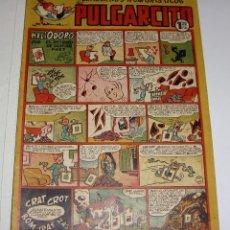 Tebeos: PULGARCITO. Nº 141. CUADERNOS HUMORÍSTICOS. HELIODORO. EL RETRATO DE DURIAN PAEZ.. Lote 69531933