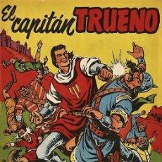 Tebeos: EL CAPITÁN TRUENO: ALMANAQUE PARA 1959 (BRUGUERA). PORTADA E HISTORIETA DE AMBRÓS. Lote 69973933