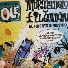 Tebeos: MORTADELO Y FILEMON - EL HUERTO SINIESTRO (NÚMERO 328) 1988. Lote 70220425
