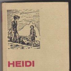 Tebeos: HISTORIAS SELECCIÓN Nº 3. HEIDI. BRUGUERA 1975.. Lote 70223897