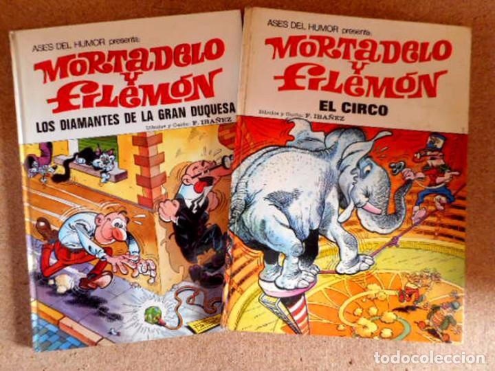 LOTE ASES DEL HUMOR Nº20-27 MORTADELO Y FILEMÓN (Tebeos y Comics - Bruguera - Mortadelo)