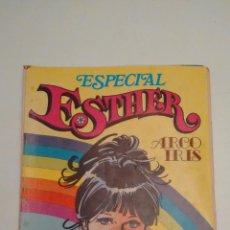 Tebeos: ESTHER REVISTA Nº 22 ESPECIAL ARCO IRIS. CON POSTER DE PEDRO, DE PECOS. BRUGUERA 1982. Lote 70438669