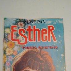 Tebeos: ESTHER REVISTA Nº 28 ESPECIAL FLORES DE OTOÑO. CON POSTER DE SILVIA. BRUGUERA 1983. Lote 70438985