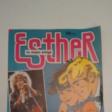 Tebeos: ESTHER REVISTA Nº 105. CON POSTER DE TINA TURNER. BRUGUERA 1985. Lote 70442481