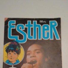 Tebeos: ESTHER REVISTA Nº 117 ULTIMO NUMERO. CON POSTER DE ANA BELEN. BRUGUERA 1985.. Lote 70445577