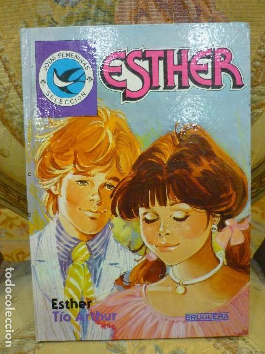 SELECCIÓN JOYAS FEMENINAS Nº 9: ESTHER Y TÍO ARTHUR. BRUGUERA, 1ª EDICIÓN 1.985. (Tebeos y Comics - Bruguera - Esther)