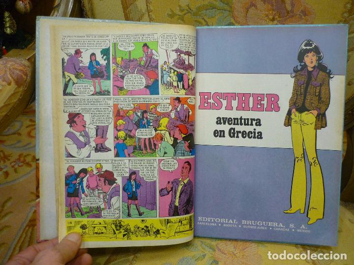 Tebeos: SELECCIÓN JOYAS FEMENINAS Nº 9: ESTHER Y TÍO ARTHUR. BRUGUERA, 1ª EDICIÓN 1.985. - Foto 5 - 70454193